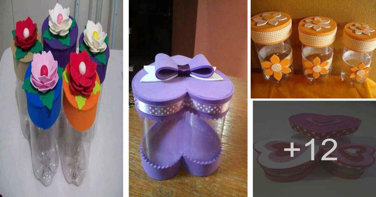 Cómo hacer manualidades con botellas de plástico para el hogar