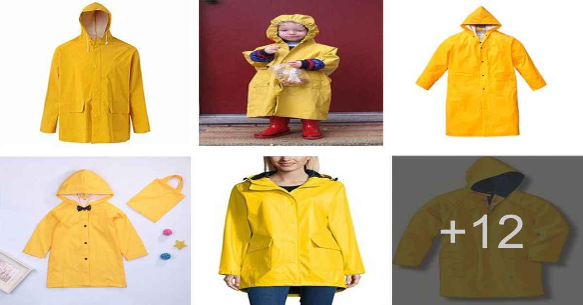 Aprende cómo confeccionar una chaqueta impermeable super fácil
