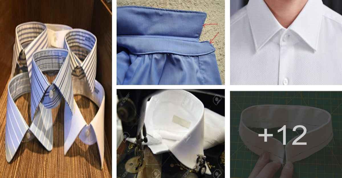 Aprende a confeccionar el cuello para camisas