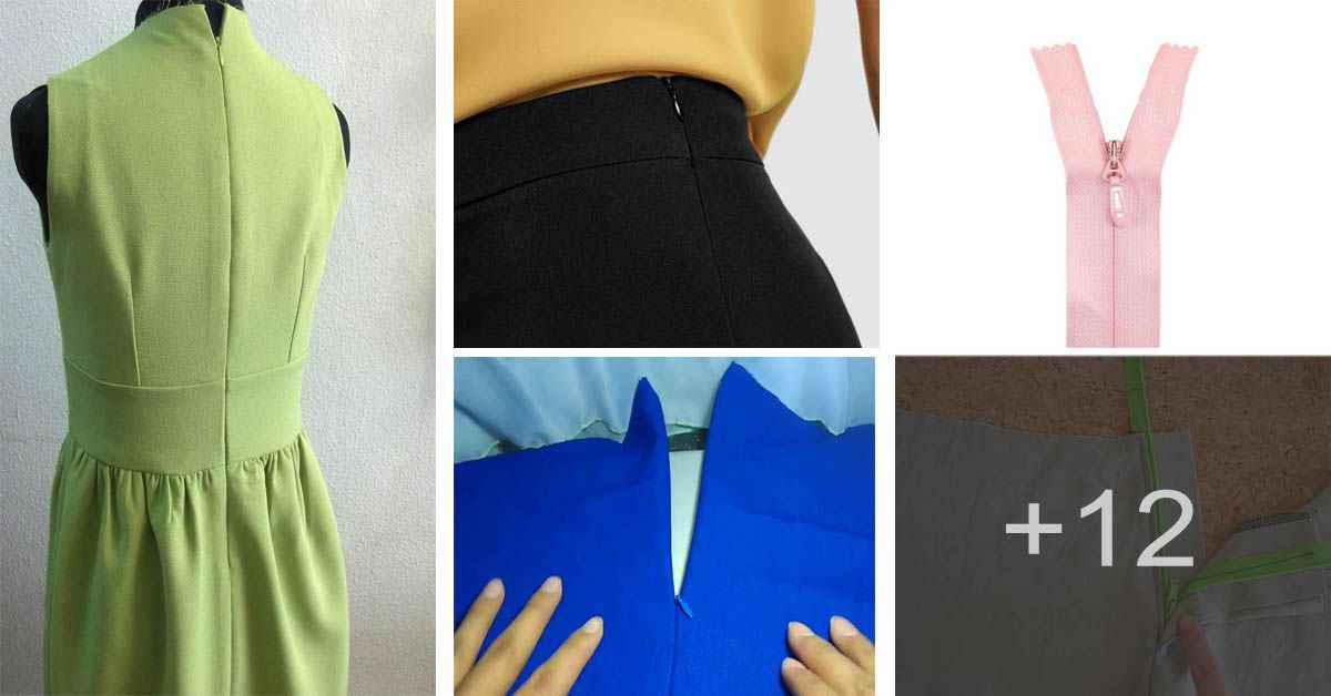 Aprende en la confección colocaras el zipper invisible a nuestras prendas