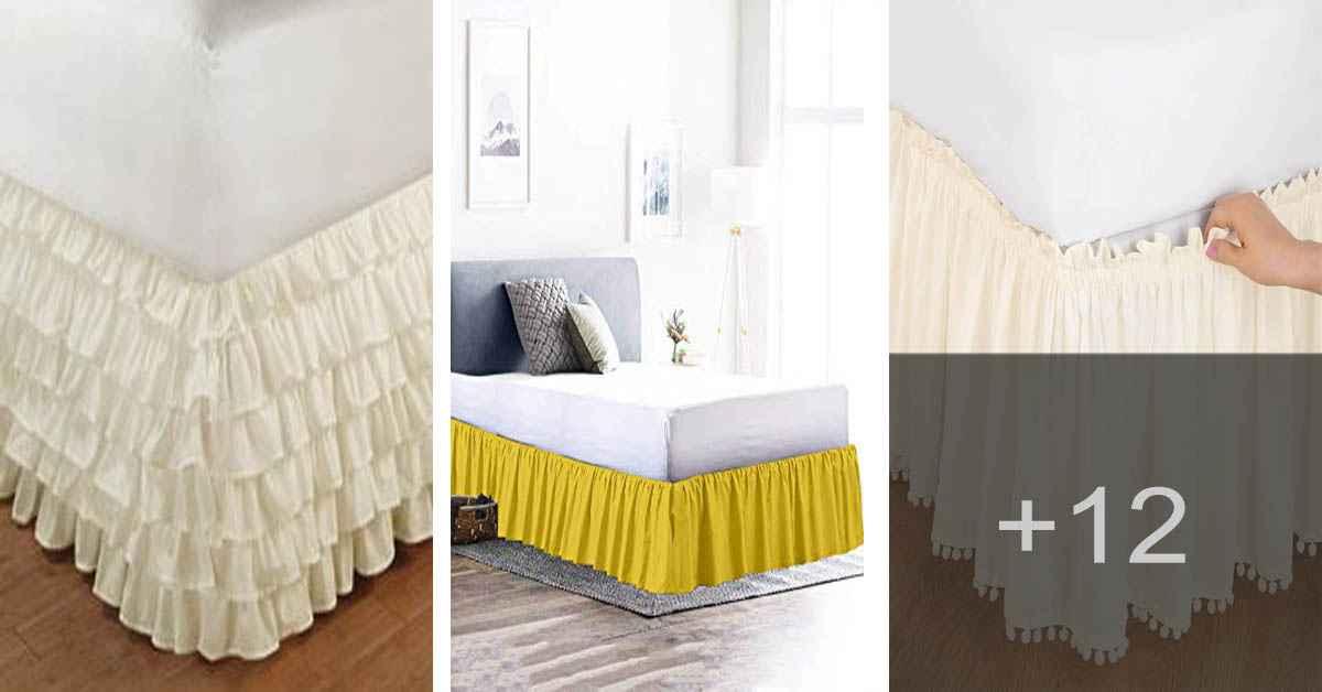 Aprende como confeccionar una falda o faldón para la cama