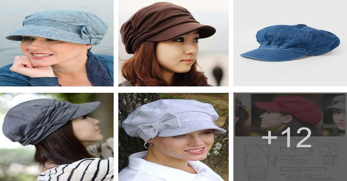 Aprende como confeccionar una linda gorra de tela