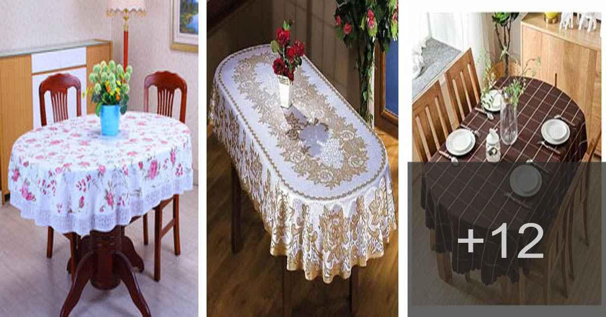 Aprende como confeccionar un mantel para mesa ovalada
