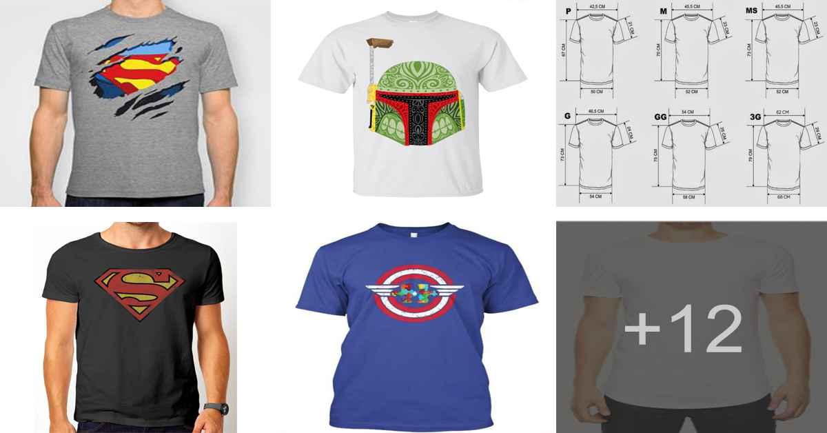 Aprende como confeccionar una camiseta playera para hombre